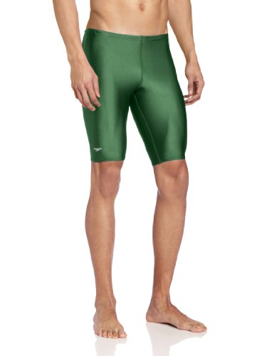 Speedo Men's Solid Jammer Bathing Suit