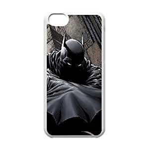 Scary Batman iPhone 5c Cell Phone Case White DIY GIFT pp001_8995822