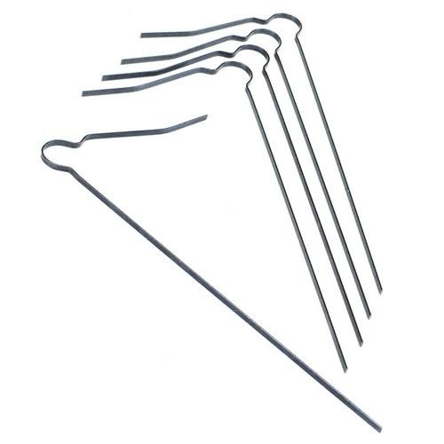 Kraft Tool CC200-100, Replacement Tine for Flat Wire Texture Broom, 2 Packs of 100 pcs