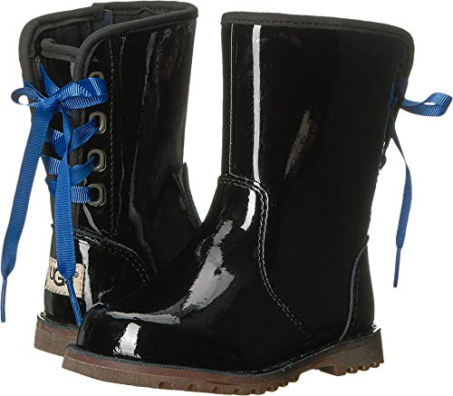 UGG Girls' T Corene Patent Boot, Black, 7 M US Toddler]()