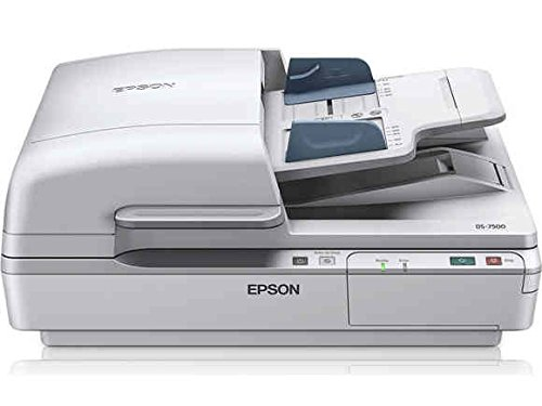Epson DS-7500 Document Scanner:  40ppm, TWAIN & ISIS Drivers, 3-Year Warranty with Next Business Day Replacement by Epson