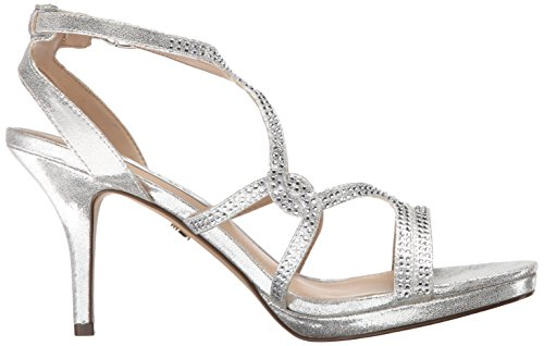 Women's Silver Skylight Dress Sandal Nina Varsha Yf OzxdXOfq