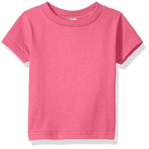 Clementine Baby Girls Infant Soft Cotton Jersey Tees Short Sleeve Crewneck T-Shirt