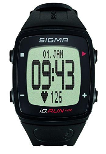 Sigma Sport ID.Run HR GPS Running Watch with Wrist Based Heart Rate, Black