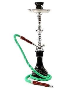 SIMPLE BLACK new online hookah set sale water vase narguile shisha smoking pro
