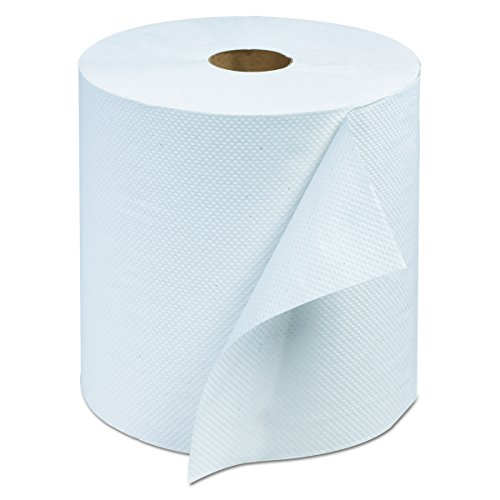 Tork RB800 Advanced Hardwound Roll Towel, 1-Ply, 7 4/5'' W x 800 ft, White (Case of 6) by Tork