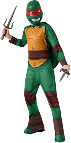 [Teenage Mutant Ninja Turtles Raphael Costume, Medium] (Ninja Turtle Costumes Boys)
