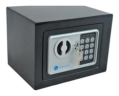 Homegear Small Electronic Safe Gun Money Passport Home Hotel Office Wall Cabinet Photo #3