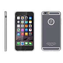 SRW GREY 6/6S Plus Wireless Qi Charging Case for Apple iPhone 6 6S Plus , Premium High Quality Case Gives Superior Protection & Perfect Fit While Enabling Super Fast Wireless Charging, Stylish Ultra Slim Design, 5 Unique Apple Colors!