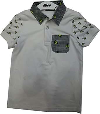 Jojo 1140611 Polo T-Shirt For Boys - 19 Us, Gray