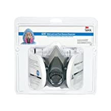 3M Mold and Lead Paint Removal Respirator, Medium by 3M