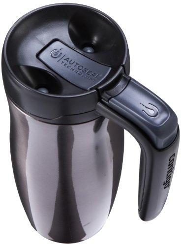 Contigo AUTOSEAL Randolph upright vacuum cleaner Insulated Handled holiday Mug having Lock 16oz Gunmetal Commuter holiday Mugs