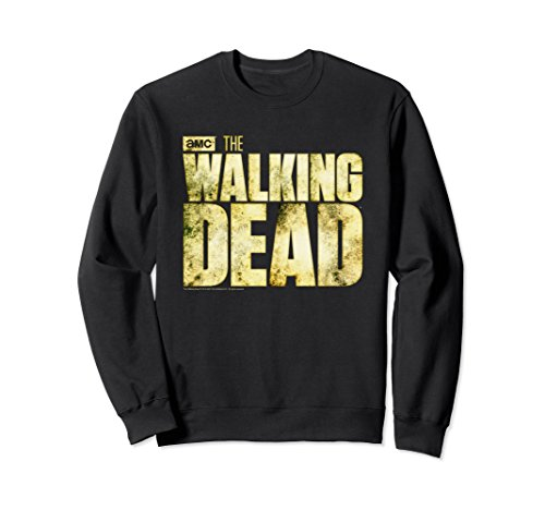 Unisex The Walking Dead Logo Sweatshirt Medium Black