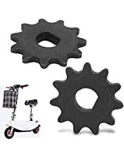 FAMKIT 2Pcs Pinion Gear E-Scooter Electric Sprocket Drive Pinion 11 Tooth Chain 25H High Speed Motor Gear