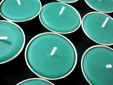 Aroma & More, 10 Pcs. Thai Relaxed Aroma Candle Citronella Tea-light with Aluminium Grommet by Aroma & More