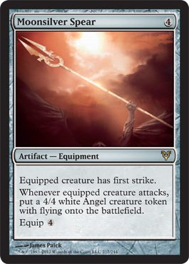 Magic: The Gathering - Moonsilver Spear (217) - Avacyn Restored