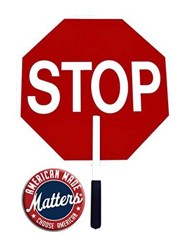 Ameri-Viz Non Reflective Stop Stop Lightweight Paddle
