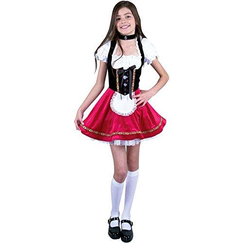 Preteen Heidi Halloween Costume (Size:X-LG 12-14) -