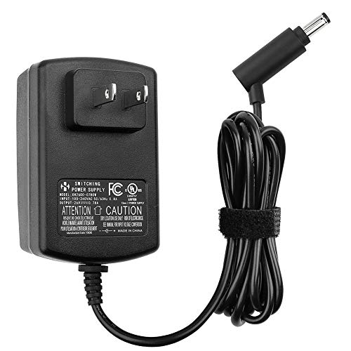 Wall Charger for Dyson Cordless Vacuum V6 V7 V8 DC58 DC59 DC61 DC62 SV03 SV04 SV05 SV06 Absolute Animal Fluffy Motorhead Vacuum Power Supply, 26V 0.78A AC DC Adapter, UL listed, 6FT Power Cord