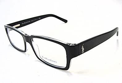 Amazon.com: Polo Ralph Lauren 2027 Eyeglasses Black 5011