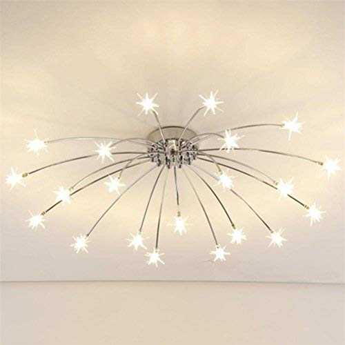 Ceiling Lights Ceiling Lights & Fans Modern Glass Flower Iron Ceiling Lights For Kitchen Bedroom Bathroom Foyer With Led G4 Bulbs Attractive Fashion