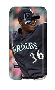 3105134K423677757 seattle mariners MLB Sports & Colleges best Samsung Galaxy S5 cases
