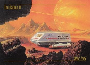 - 1993 Skybox Star Trek Master Series #30 The Galileo II M/NM