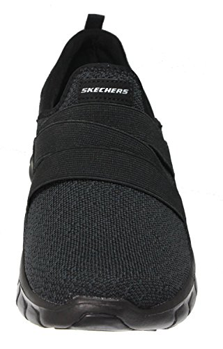 Skechers Sport Frauen Flex Appeal 2.0 New Image Fashion Sneaker Schwarz Schwarz