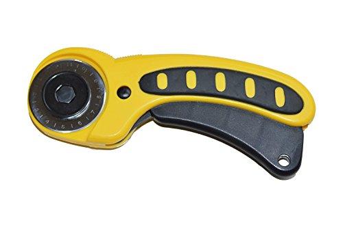 DEKILE Rollschneider Stoffschneider 45 mm