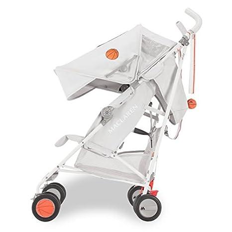 Maclaren Triumph all star Silla de paseo - ligera, de los 6 meses hasta los 25 kg, Asiento multiposición, suspensión en las 4 ruedas, Capota ...