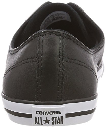 Black Taylor de Negro Dainty Deporte CT 001 Zapatillas Mujer Chuck para Ox Converse Leather qSw75f