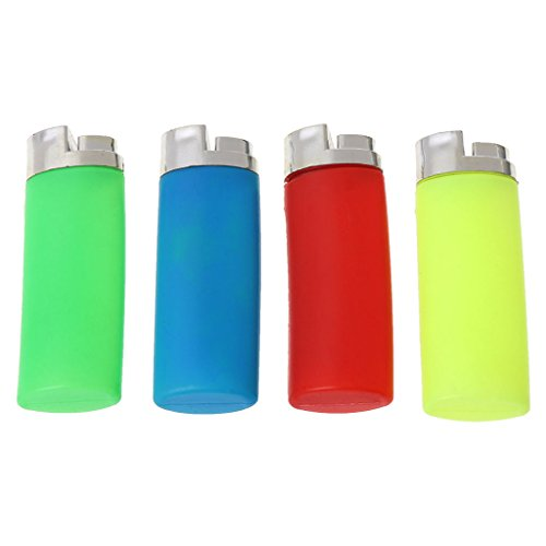 leyeruk Funny Water Squirting Lighter Party Trick Gag Fake Lighter Prank Trick Toy Gift