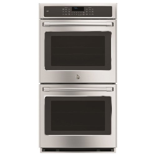 GE CK7500SHSS Cafe 27″ Stainless Steel Electric Double Wall Oven – Convection