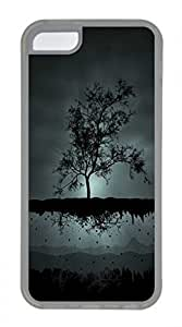 iPhone 5c case, Cute A Flying Tree iPhone 5c Cover, iPhone 5c Cases, Soft Clear iPhone 5c Covers