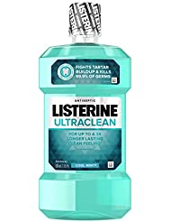 Listerine Ultraclean Cool Mint Antiseptic Mouthwash,...