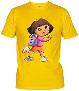 Mx Games Camiseta Dora la Exploradora Mochila (Talla: 9-10 años ...