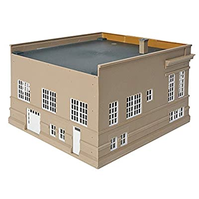 Walthers Cornerstone HO Scale Model Public Library Kit, 8-1/2 x 6-1/2 X 4-3/4