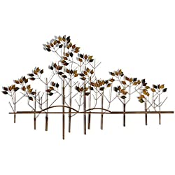 Tree of Life Metal Wall Sculpture - 39 Inches Wide x 24 Inches High Metal Wall Art
