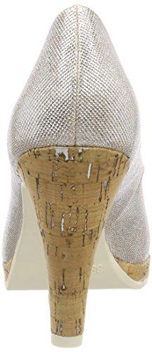 Tozzi Escarpins Fermé Femme Rose Bout Marco Metallic Or 22401 OqvwRxnd