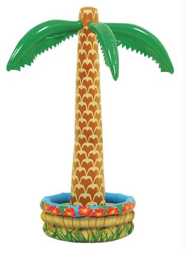 Tree Trunks Costume (6' Inflatable Palm Tree Cooler)