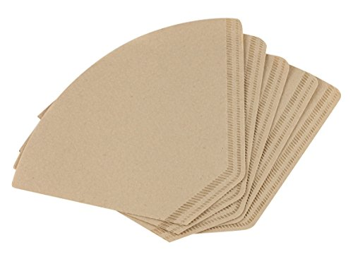 Melitta Bamboo Coffee Filters, #4, Count 40