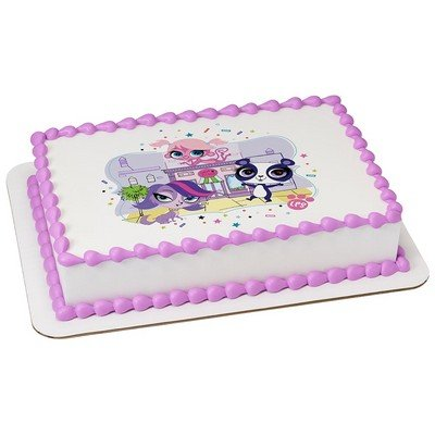 Littlest Pet Shop Licensed Edible Cake Topper #58213 -