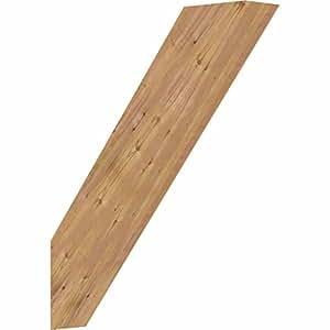 """Ekena Millwork BRC04X18X22TRA00SWR Traditional Smooth Brace, 3 1/2"""" Width x 18"""" Depth x 22"""" Height, Western Red Cedar"""