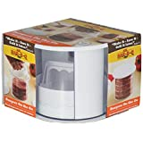 Mr. Bar-B-Q 12 Piece Patty Press Set | Save Time with Early Prep | Quick Release Insert | Makes Perfect Patties Every Time |