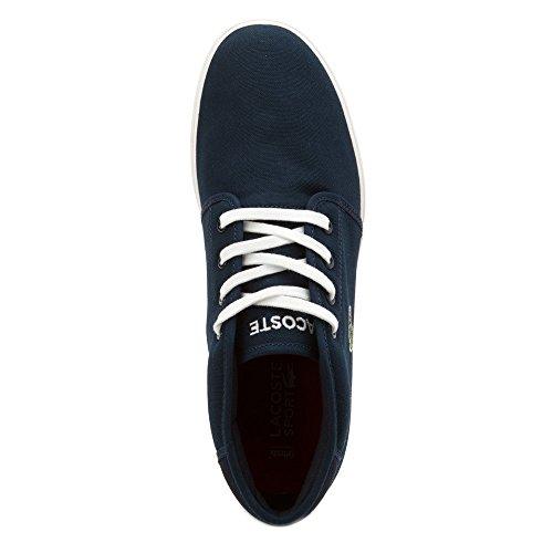 Lacoste Mens Ampthill Lcr2 Spm Fashion Sneaker Fashion Sneaker Blu Scuro / Blu Scuro