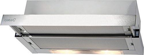 Cata TF 2003 DURALUM 60 Campana telescópica, 107 W, 2 Velocidades, Acero Inoxidable: Amazon.es: Grandes electrodomésticos