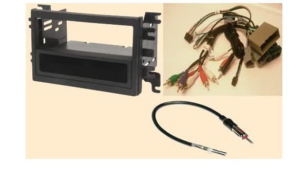 Swell Amazon Com Radio Stereo Install Dash Kit Single And Double Din Wiring Database Wedabyuccorg