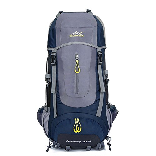 Durable Travel Backpack Hiking Daypacks Waterproof Outdoor Cycling Skiing Trekking Camping Knapsack for Men & Women Deep - Belt Modern Embossed