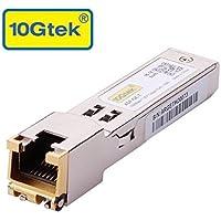 10Gtek for Ubiquiti SFP Transceiver, 1.25 Gigabit RJ45 Copper SFP Module, 1000Base-T, Pack of 2
