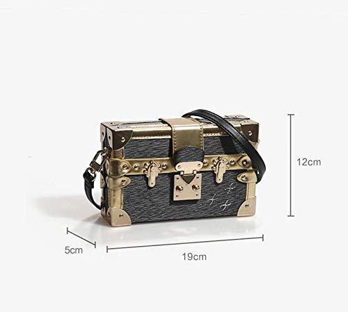 Cmddyy Fashion Hit Square a Female Shoulder Single C Borsa Messenger donna Small Color Box rrTxwId